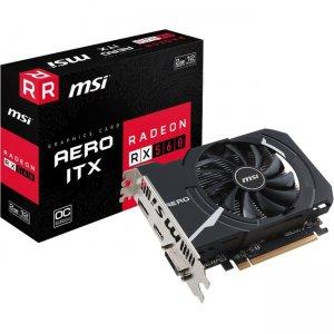MSI AMD GPU Graphic Card DVI HDMI DP R560AI2C RX 560 AERO ITX 2G OC
