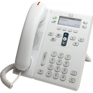 Cisco Unified IP Phone , White, Slimline Handset - Refurbished CP-6941-WL-K9-RF 6941