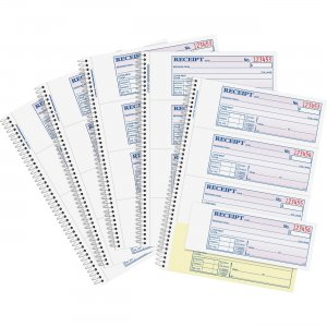 Adams Spiral 2-part Money/Rent Receipt Book SC1182PK ABFSC1182PK