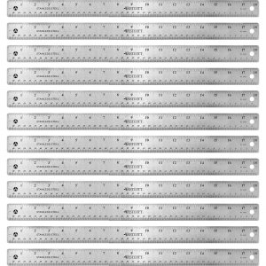 Westcott Stainless Steel Rulers 10417BX ACM10417BX