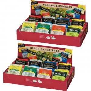 Bigelow 8-Flavor Tea Assortment Tea Tray Pack 10568BD BTC10568BD