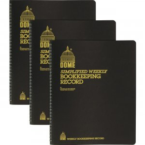 Dome Bookkeeping Record Book 600BD DOM600BD
