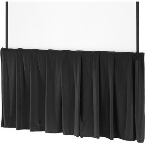 Da-Lite Black Tripod Skirt 99216