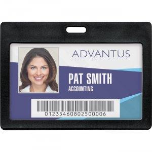 Advantus Horizontal Rigid ID Badge Holder 97065 AVT97065