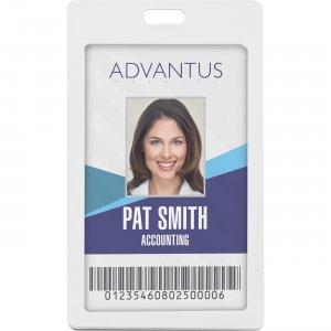 Advantus Vertical Rigid ID Badge Holder 97066 AVT97066