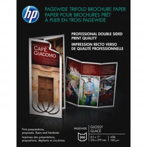 HP PageWide Glossy Brochure Paper Z7S65A HEWZ7S65A