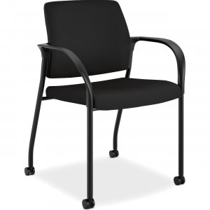 HON Ignition Fabric Back Mobile Stacking Chair IS109CU10 HONIS109CU10