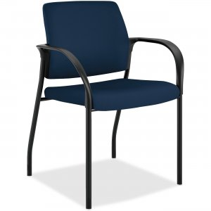HON Ignition Fabric Back Multipurpose Stacking Chair IS110CU98 HONIS110CU98