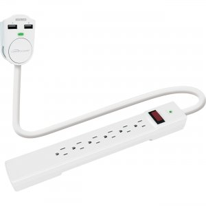 Compucessory 6-outlet Power Strip 25666 CCS25666