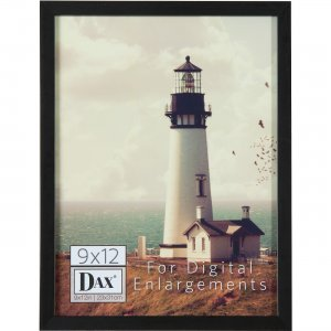 DAX Digital Enlargement Black Wood Frame N16812BT DAXN16812BT