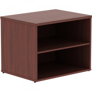 Lorell Relevance Series Mahogany Laminate Office Furniture 16214 LLR16214