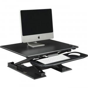 Lorell Sit-to-Stand Electric Desk Riser 99552 LLR99552