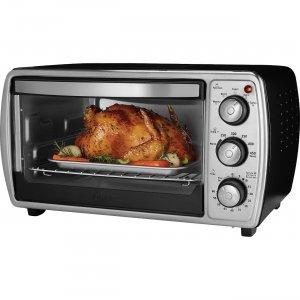 Oster 6-slice Convection Toaster Oven, Black TSSTTVCGBK OSRTSSTTVCGBK
