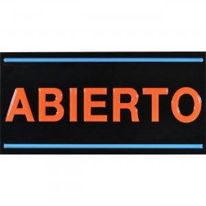 Royal Sovereign Spanish Open LED Sign RSB1340S RSIRSB1340S