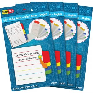 Redi-Tag Tabbed Divider Notes 10246 RTG10246