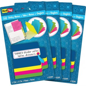 Redi-Tag Tabbed Divider Notes 10247 RTG10247