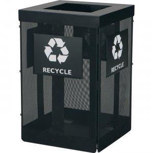 Safco Onyx Waste Receptacle 9936BL SAF9936BL