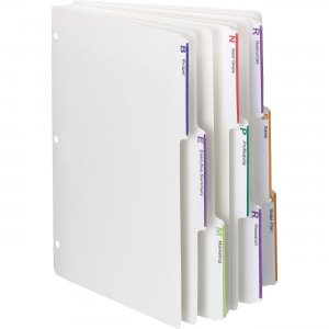 Smead 3-ring Binder Index Dividers 89413 SMD89413