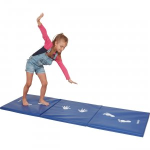 Early Childhood Resources Cartwheel /Balance Practice Mat 12693BL ECR12693BL