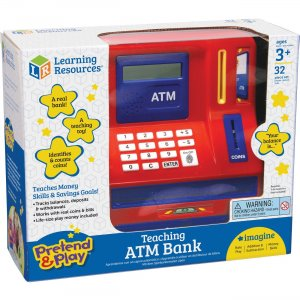 Pretend & Play Teaching ATM Bank LER2625 LRNLER2625