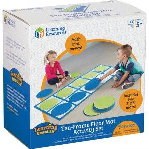 Learning Resources 10-frame Floor Mat Activity Set LER6651 LRNLER6651