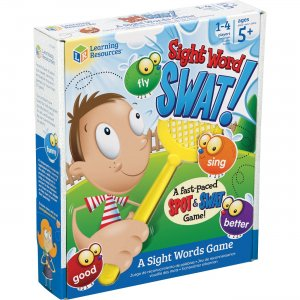 Learning Resources Sight Words Swat! A Sight Words Game LER8598 LRNLER8598