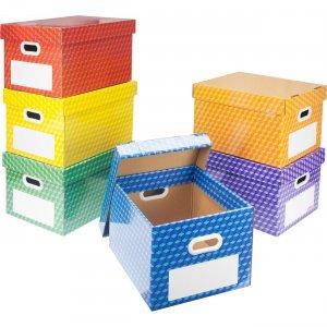 Storex Corrugated File Tote 80102U01C STX80102U01C