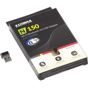 NetScout Edimax n150 Wi-Fi & Bluetooth USB Adapter for US and Canada US-WIFI-BT-USB