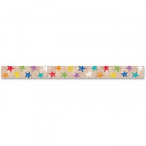 Creative Teaching Press Rustic Stars Border 83801 CTC83801