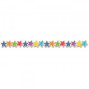 Creative Teaching Press Upcycle Stars Border 83831 CTC83831