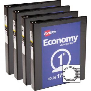 Avery Economy View Binder 05710BD AVE05710BD