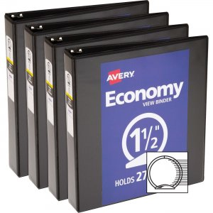 Avery Economy View Binder 05725BD AVE05725BD