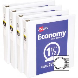 Avery Economy View Binder 05726BD AVE05726BD