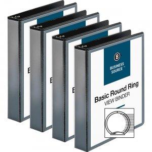 Business Source Round-ring View Binder 09954BD BSN09954BD