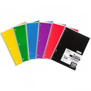 Mead Spiral Bound Wide Ruled Notebooks 05514BD MEA05514BD