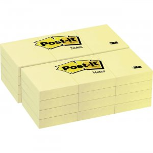 Post-it Canary Yellow Original Note Pads 653YWBD MMM653YWBD
