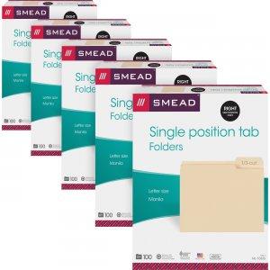 Smead 1/3 Cut Tab Manila File Folders 10333CT SMD10333CT