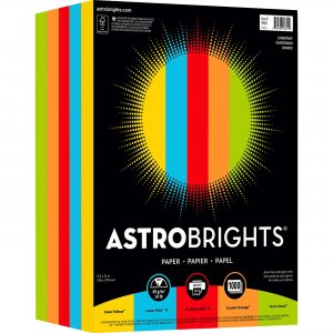 Astro Astrobrights Everyday Color Paper 99611 WAU99611