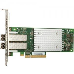 IMSOURCING Certified Pre-Owned QLE2742 Dual-port Gen 6 Fibre Channel, Low Profile PCIe Card - Refurbished QLE2742-SR-CK-RF