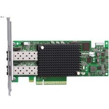 IMSOURCING Certified Pre-Owned Dual-port 16Gb PCIe3.0 Fibre Channel Host Bus Adapter - Refurbished LPE16002B-E-RF LPE16002B-E