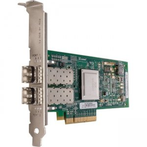 IMSOURCING Certified Pre-Owned Dual Port Fibre Channel Host Bus Adapter - Refurbished QLE2562-E-SP-RF