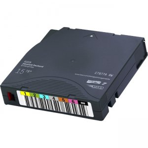 HPE LTO-7 Ultrium Type M 22.5TB RW 20 Data Cartridges Non Custom Labeled with Cases Q2078MN