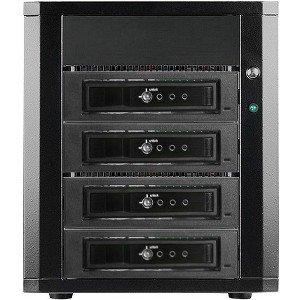 RAIDage 4-bay SATA 6.0 Gb/s eSATA Hotswap JBOD Enclosure 250W PSU DAGE440T7DE-ES