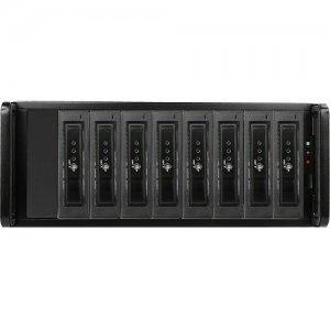 RAIDage 4U 8-bay SATA 6.0 Gb/s eSATA Hotswap Chassis 500W PSU DAGE408U40T7DE-ES
