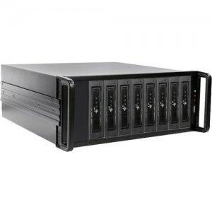 iStarUSA 4U 8-bay SAS/SATA 6.0 Gb/s miniSAS SFF-8088 JBOD Hotswap Chassis 500W PSU DAGE408U40T7DE-2MS