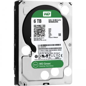 Western Digital - IMSourcing Certified Pre-Owned Green Hard Drive - Refurbished WD60EZRX-RF WD60EZRX