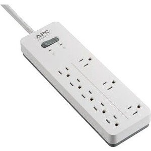 APC by Schneider Electric SurgeArrest Home/Office 8-Outlet Surge Suppressor/Protector PH8W