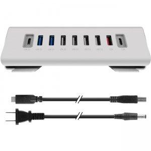 Macally USB-C to 9 PORT USB-A / USB-C HUB & Charger UCTRIHUB9