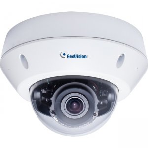 GeoVision 8MP H.265 Face Recognition Low Lux WDR IR Vandal Proof IP Dome GV-VD8700