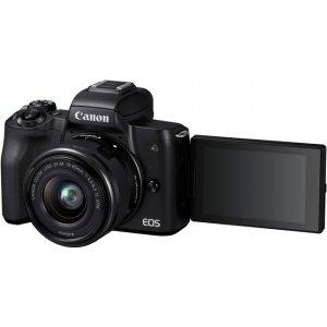 Canon EOS EF-M 15-45mm f/3.5-6.3 IS STM Lens Kit Black 2680C011 M50